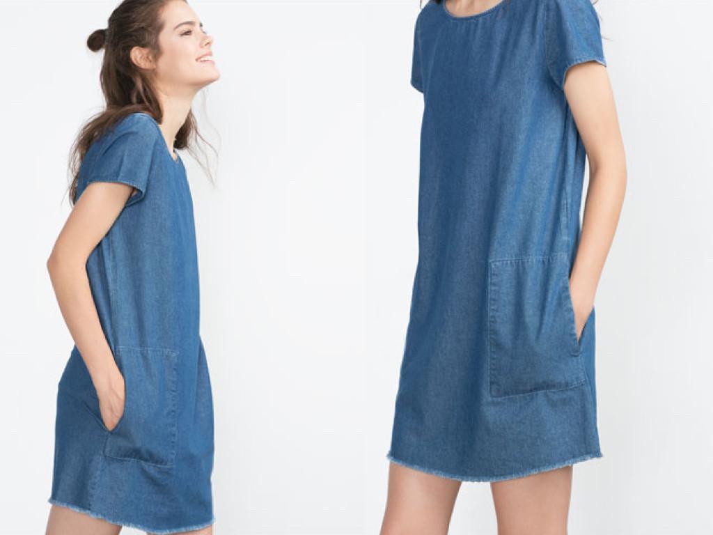 Джинсовые платья
