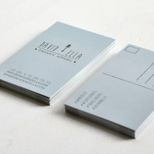 David + Ella businesscards_vierkant